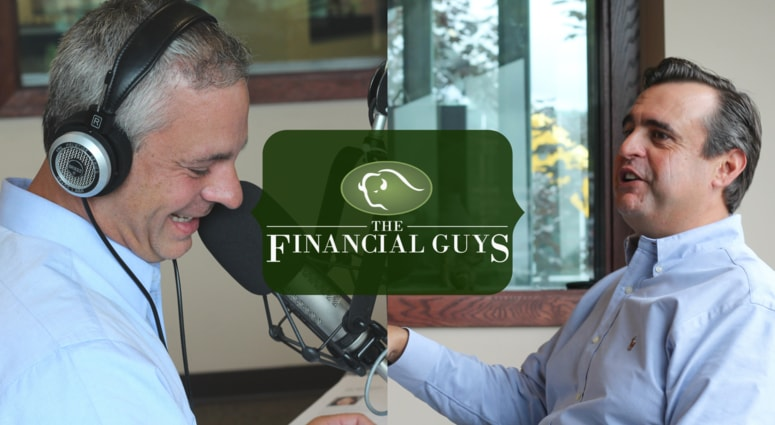 Glenn Wiggle and Mike Lomas The Financial Guys